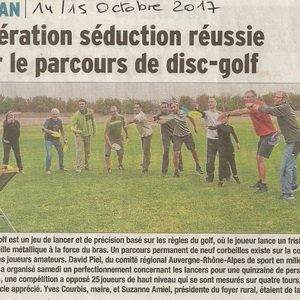 section disc-golf