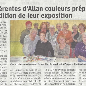 Section Allan couleurs